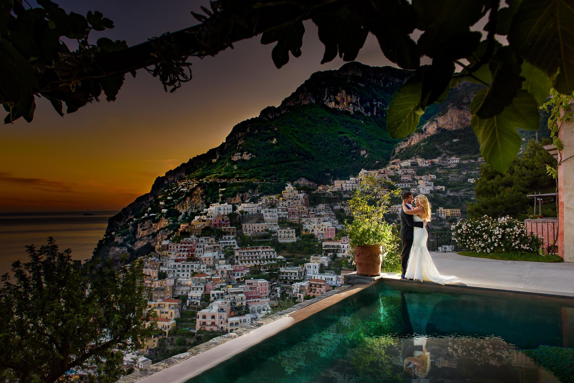 Villa San Giacomo Positano Wedding Photog